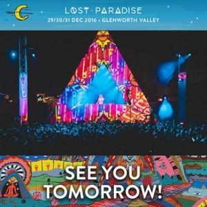 Lost Paradise festival promo