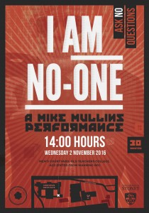 I Am No-One Mike Mullins