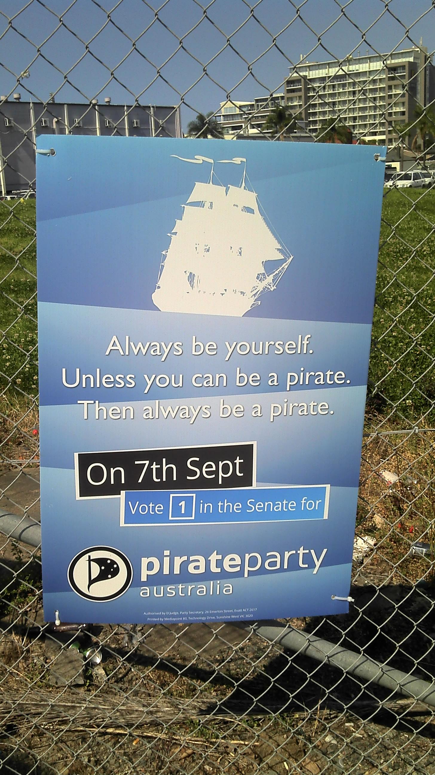 pirate senate election