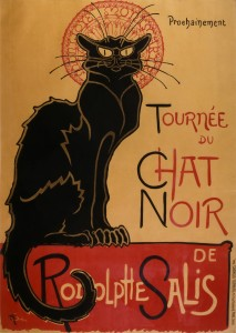 chat noir paris spoken word