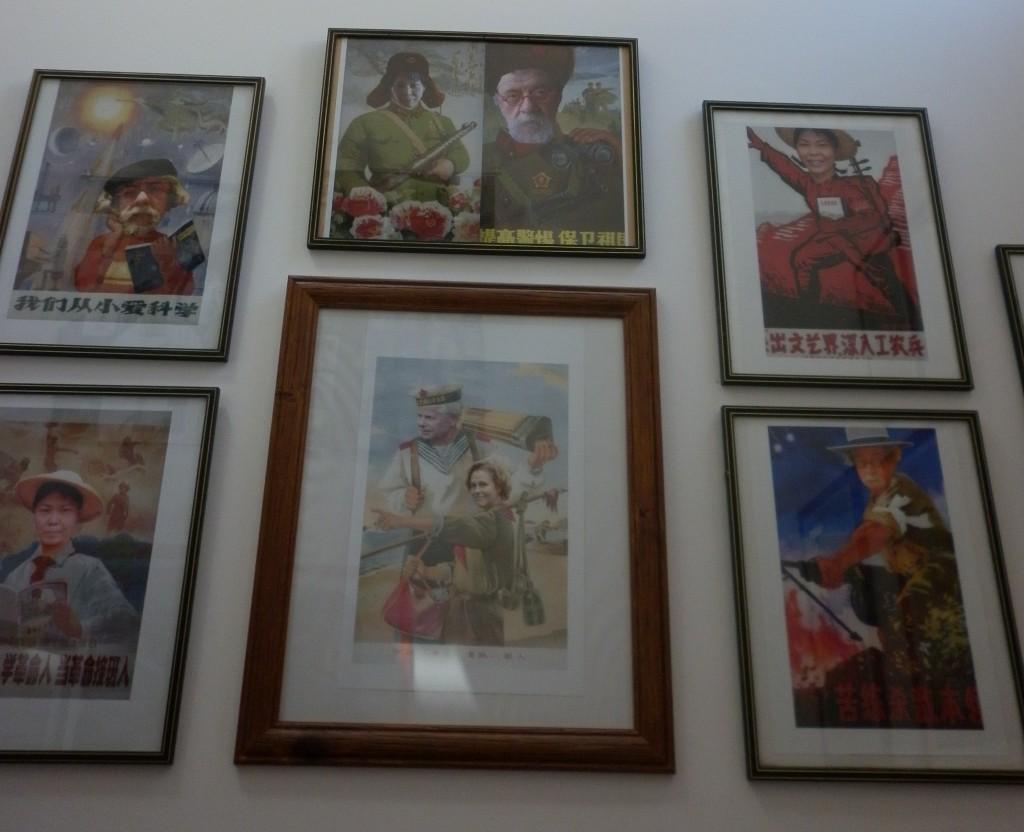 Beautiful artworks in the school foyer